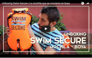 Mochila boya estanca swim secure